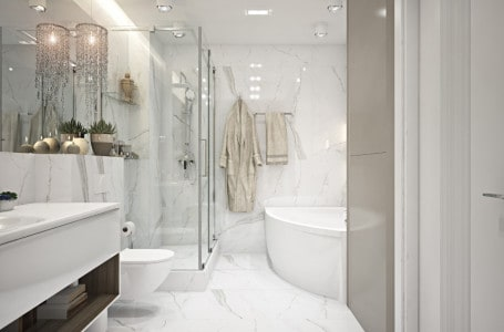 Natural stone in the bathroom – which works best?