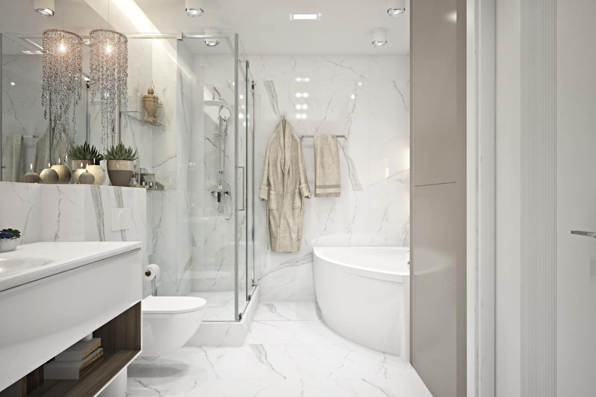 natural stone in the bathroom which works best - Natural stone in the bathroom - which works best?