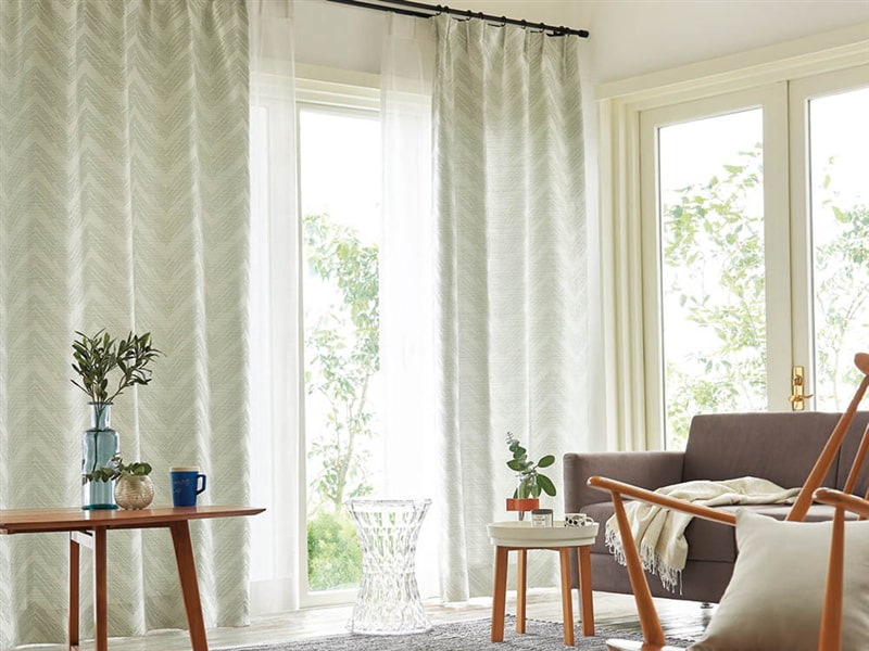 trends 2019 curtains in the living room to the ground or to the windowsill 1 - Trends 2019 - curtains in the living room - to the ground or to the windowsill?